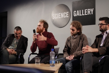 Duncan McCann responds to audience questions.